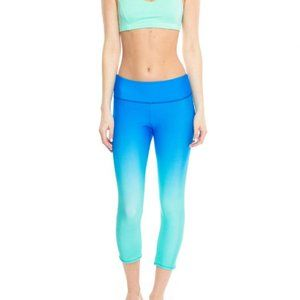 Onzie Ombre Yoga Leggings Capri Length S/M